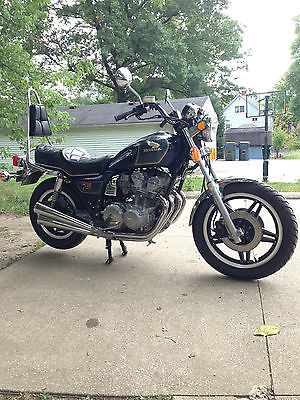 Honda : CB 1980 honda cb 750 custom beautiful condition 6194 original miles