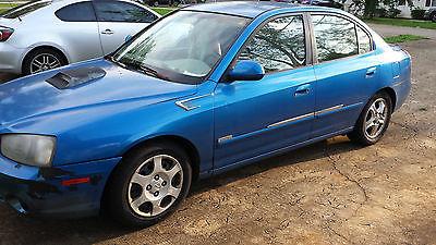 Hyundai : Elantra GT Hyundai Elantra 2001 GLS (Sedan) - 4Cyl/FWD - Beautiful Blue! - Drives/Working
