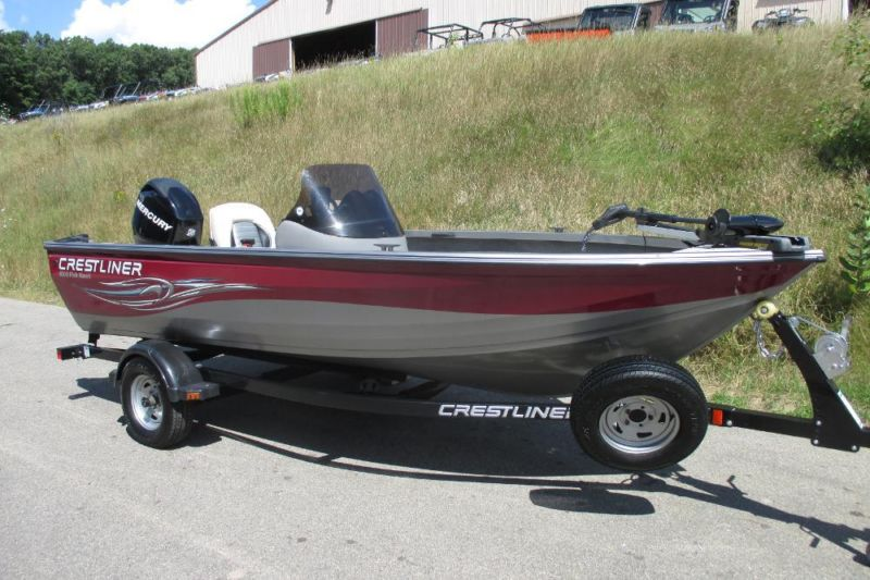 2010 Crestliner 1600 Fish Hawk With ONly 13 Engine Hours!