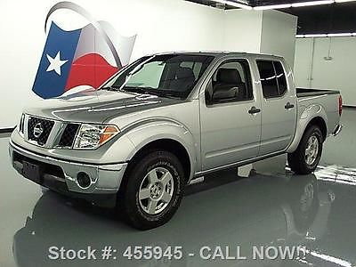 Nissan : Frontier SE CREW AUTOMATIC BED EXTENDER 2005 nissan frontier se crew automatic bed extender 85 k 455945 texas direct