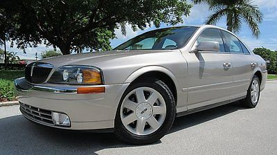 Lincoln : LS Base Sedan 4-Door 2002 lincoln ls 3.0 l one owner florida car with only 33 k miles very clean car