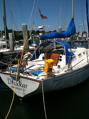 Columbia 8.7 Sailboat ready to sail - recent refit