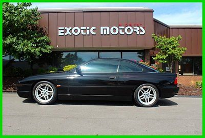 BMW : 8-Series CSi 1995 bmw 850 csi extremely rare documentation window sticker only 64 888