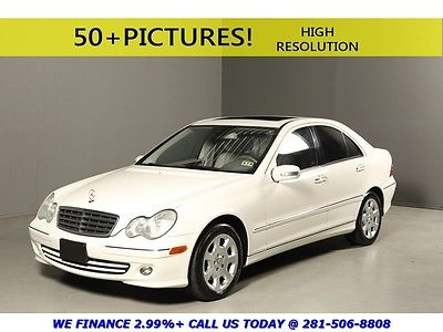 Mercedes-Benz : C-Class 2006 C280 Luxury SUNROOF LEATHER HEAT SEATS 2006 mercedes benz c 280 sport sunroof leather heated seats bluetooth white