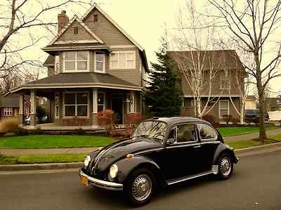 Volkswagen : Beetle - Classic BUg 1968 vw volkswagen bug like super beetle karmin ghia square back bus eurovan