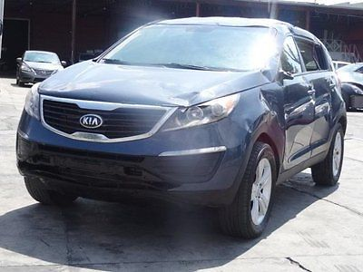 Kia : Sportage LX  2013 kia sportage lx wrecked damage perfect project suv must see cooling good
