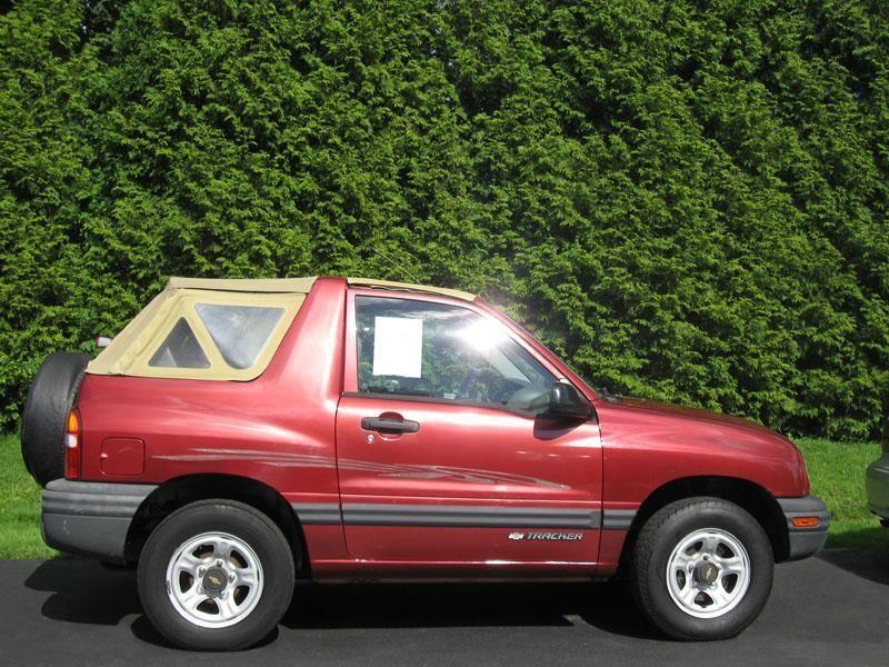 1999 Chevrolet Tracker 4x4 Convertible