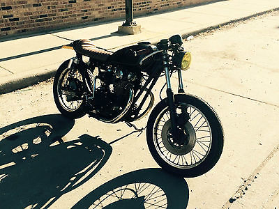 Yamaha : XS 73 yamaha xs 650 cafe racer motorcycle tons of new parts and upgrades tx 650