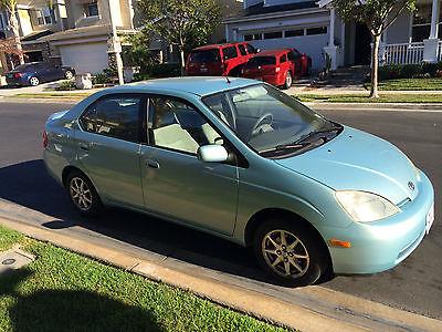 Toyota : Prius Base Sedan 4-Door Toyota Prius 2001 - Aqua Ice - Sedan 4 Door - New Dorman Battery 3 Year Warranty