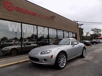 Mazda : MX-5 Miata Grand Touring Hardtop Convertible, 6 Speed, Leather, Heated Seats