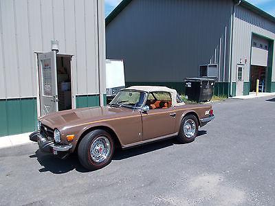 Triumph : TR-6 TR6 1974 triump tr 6 convertible