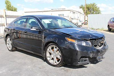Acura : TL SH-AWD Advance 2012 acura tl sh awd advance damaged salvage low miles loaded export welcome