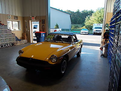 MG : MGB Convertible 1.8L 4 Speed VERY CLEAN 1978 mg mgb convertible 4 speed 1.8 l clean must look call me