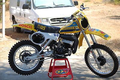 Suzuki : RM 1979 suzuki rm 125 vintage rm yz cr kx mx fox ahrma 250 400 motocross