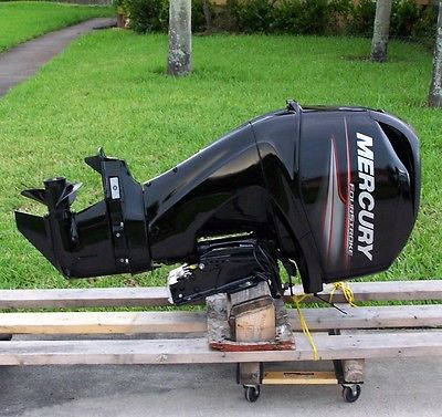 2012 Mercury 60 HP EFI 4 Stroke ELPT Four Engine Outboard Motor