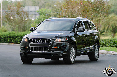 Audi : Q7 Q7 TDI DIESEL QUATTRO FLORIDA INSPECTED AUDI Q7 TDI DIESEL QUATTRO AWD EXCEPTIONAL FLORIDA OWNED CLEAN CARFAX INSPECTED
