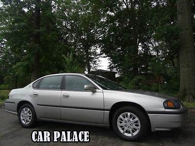 Chevrolet : Impala Base 4dr Sedan 2005 chevrolet impala low miles