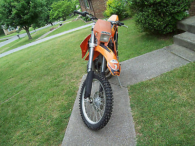 KTM : EXC 2002 ktm exc 250