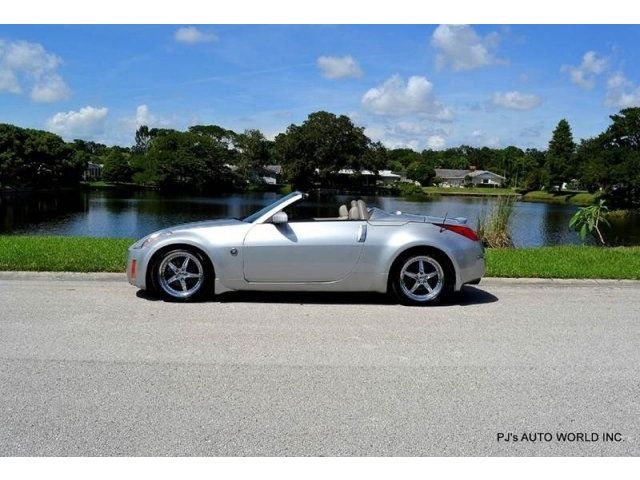 Nissan : 350Z Enthusiast 2 NISSAN 350Z ROADSTER CLEAN 3.5L V6 AUTOMATIC POWER TOP LEATHER INTERIOR