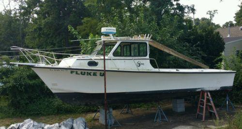 1998 C hawk 29' yanmar diesel 6lp-stp pilot house project boat