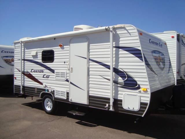 2014 Canyon Cat 17 QBC Bunk House Travel Trailer