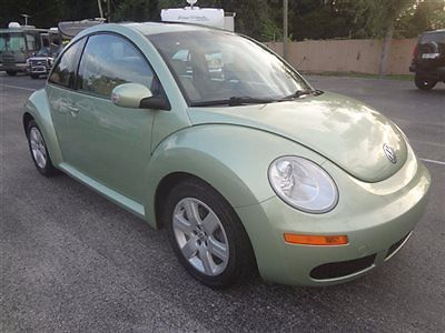 Volkswagen : Beetle-New 2dr Manual PZEV 2007 bettle gls coupe 5 speed sunroof monsoon htd seats very clean warranty wow