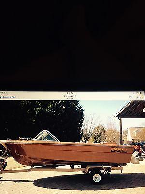 1968 Dixie ski boat HOLMAN & MOODY edition