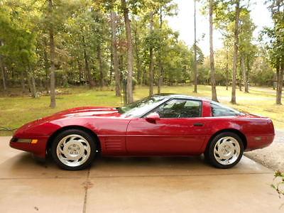 Chevrolet : Corvette base low mileage clean 1991 chevy corvette