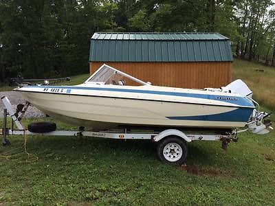 1979 Glastron SSV-176 Fish & Ski with 1991 Johnson 60HP Outboard
