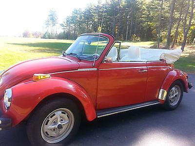 Volkswagen : Beetle - Classic Convertible SUPER BEETLE CONVERTIBLE RESTORED 1176 MILES SINCE 207 745 5195