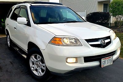Acura : MDX Touring NAVI w/RES 2004 acura mdx touring navi w res low mi engine dvd moonroof rear camera bose