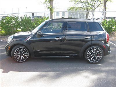 Mini : Countryman AWD 4dr John Cooper Works ALL4 2013 mini john cooper works countryman awd gps panorama roof one owner