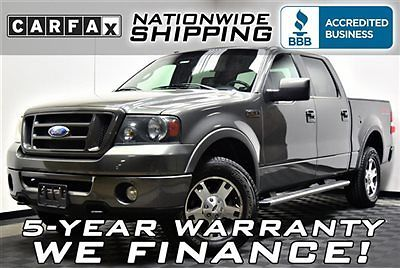 Ford : F-150 FX4 SuperCrew 4x4 Loaded FX4 4x4 Leather Triton V8 Nationwide Shipping 5 Year Warranty Must See