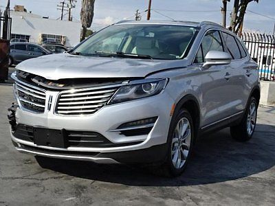 Lincoln : Other AWD 2015 lincoln mkc awd salvage wrecked rebuilder loaded like new wont last