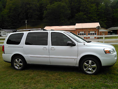 Chevrolet : Uplander LT 2008 chevy uplander with only 61 300 miles