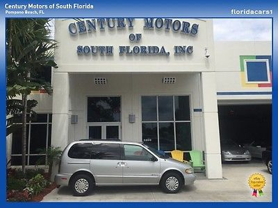 Nissan : Quest 1 OWNER XE LOW MILES CARFAX CLEAN Low-Miles Minivan Roof-Rack Cloth Michelin Tires Low Miles