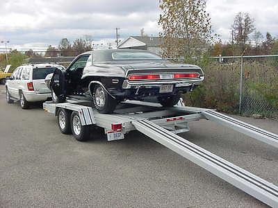 Trailex Open Aluminum Car Trailer Ct 8045eb Rvs For Sale