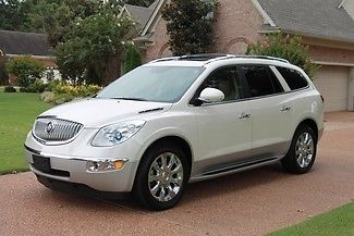 Buick : Enclave CXL-2 AWD One Owner Perfect Carfax Navigation Rear Seat Entertainment Original MSRP $52115