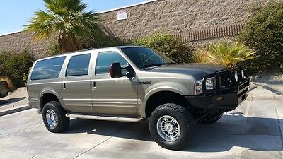 Ford : Excursion Limited 4 Wheel Drive 7 Passenger Wagon 2 Row Capt Excursion Power Stroke 7.3 Diesel 4WD Limited. Lifted DVD & MINT! 2002 2001 2000