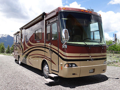 2007 Holiday Rambler Endeavor 40' PDQ 4 slides numerous upgrades