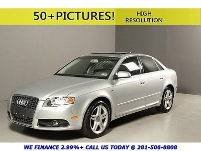 Audi : A4 2008 2.0T S-LINE SUNROOF LEATHER SPORT TURBOCHARGD 2008 audi a 4 2.0 t s line sunroof leather sport turbocharged 6 speed manual bose