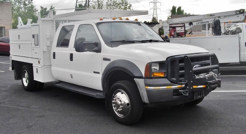 2007 Ford F550 Super Duty 9' FLATBED