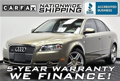 Audi : A4 2.0T quattro Loaded Premium AWD Nationwide Shipping 5 Year Warranty Leather Sunroof Turbo