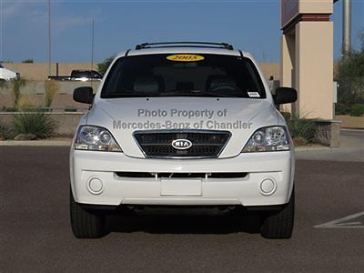 Kia : Sorento 4dr LX Automatic 4 dr lx automatic suv 5 speed gasoline 3.5 l v 6 dohc 24 v white