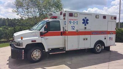 GMC : Other C4C042 2003 gmc c 4500 ambulance