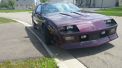 Chevrolet : Camaro Z28 CAMARO Z28 LOW MILES PURPLE HAZE /HAWAIAN ORCHID, TAN LEATHER