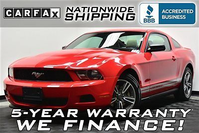 Ford : Mustang V6 Premium Loaded Premium Pkg Leather Nationwide Shipping 5 Year Warranty Auto Alloys
