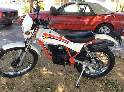 Honda : Other 1986 honda tlr 200 reflex survivor nice unmolested very rare motorcycle