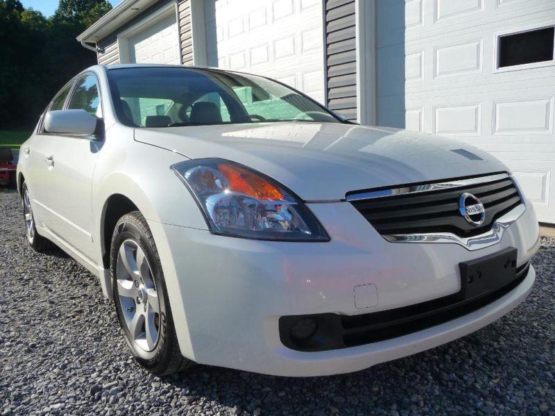 2008 Nissan Altima SL 2.5 White