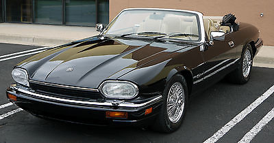 Jaguar : XJS Convertible 1996 jaguar xjs convertible 34 k miles one owner wire wheels